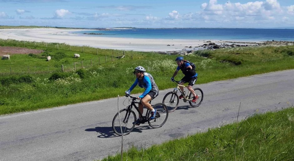 Cycle hire from Tiree Fitness